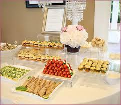 kitchen tea food ideas weddings