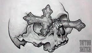 skull tatto flash by sparc666 on deviantart