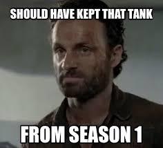 Walking Dead Memes Season 5 - season four memes the walking dead fansite