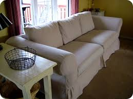 Sofa Cushion Slipcovers Living Room 3 Cushion Sofa Slipcover Pottery Barn Slipcovers For