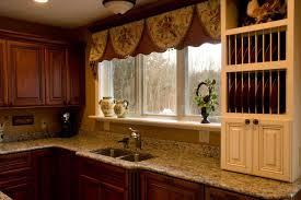 Half Window Curtains Kitchen Fabulous Bay Window Above Kitchen Sink Window Privacy