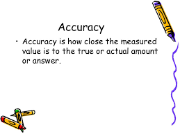 Accuracy Vs Precision Worksheet Answers Precision Vs Accuracy There Really Is A Difference Ppt
