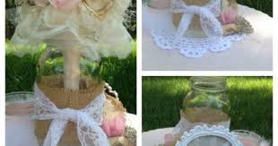 Handmade Centerpieces For Weddings by Burlap And Lace Wedding Centerpieces Made With Coffee Filter
