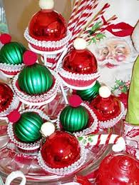 resin ornaments from the dollar tree store make easy cupcake