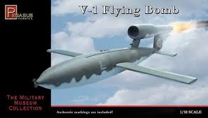 doodlebug flying bomb wwii german v1 flying bomb doodle bug model kit 1 18 ballzanos