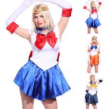 women ladies sailor moon cartoon superhero cosplay costume comic