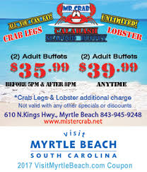Seafood Buffets In North Myrtle Beach by Mr Crab Calabash Seafood Buffet