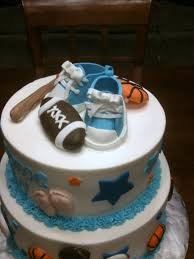 baby shower sports cake 900x900px ll 08026bcc