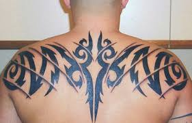 tribal back tattoos only tattoos