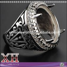 rings design for men 2015 custom design indonesia sterling silver big finger ring