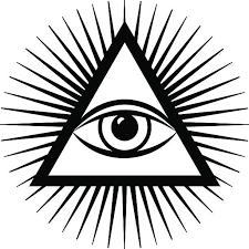 illuminati clipart all seeing eye pencil and in color illuminati