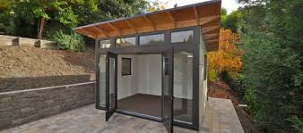 Building Backyard Shed by Eric U0027s Excellent Getaway A Backyard Gym In A Shed