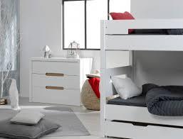 chambre garçon lit superposé chambre enfant lit superposé milo blanc chambrekids