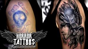 horror tattoos cover up miriam vorher nachher sixx youtube