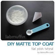 how does matte top coat work and diy matte top coat recipe lab