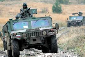 armored humvee interior diesel on the ground a look at nato fuels and vehicles