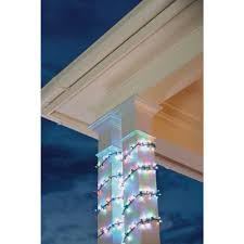led garland christmas lights home accents holiday 9 ft led garland lights with dual functions ty