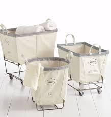 Commercial Laundry Hamper by 2 1 2 Bushel Steele Canvas Laundry Bin Rejuvenation
