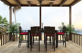 Bistro Set Bar Height Outdoor by 7 Piece Bar Height Patio Set A1p0 Cnxconsortium Org Outdoor