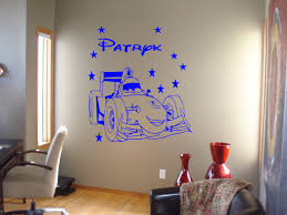 cars 2 wall decal kids bedroom personalised wall sticker graphics