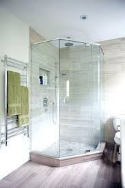 Bathroom Corner Shower Ideas Astounding Small Corner Shower Dimensions Pictures Ideas House