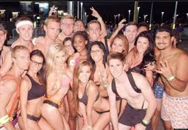 asu u0027undie run u0027 for charity redefines giving the clothes off your