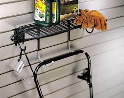 amazon com organized living activity organizer shelf with hooks