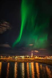 reykjavik iceland northern lights aurora borealis or northern lights reykjavik iceland photographic
