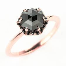 black wedding rings for 13 black engagement rings for brides with a side huffpost