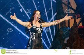 Floor Jansen Nightwish Finnish Band On Stage Editorial Stock Photo Image