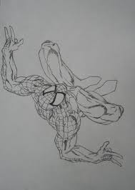 amazing spider man outline achillesbeast deviantart