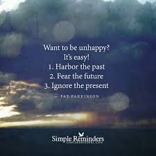 how to be unhappy by pat parkinson