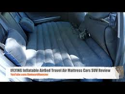 iflying inflatable airbed travel air mattress cars suv review