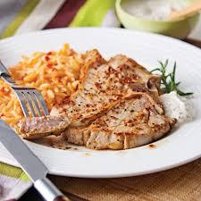 cuisiner une cote de veau côtelettes de veau sauce au yogourt et moutarde à l érable