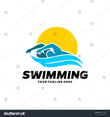 Swimming Logos Free by Swim Swimming Club Swimmer Logo Design Stock Vector 507778687