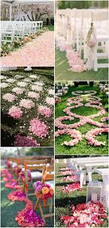 petal aisle runner 40 wedding aisle petals decor ideas deer pearl flowers