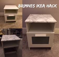 Ikea Hackers Standing Desk by 5 Brimnes Ikea Hack Super Easy Upcycle Using Sticky Back Plastic
