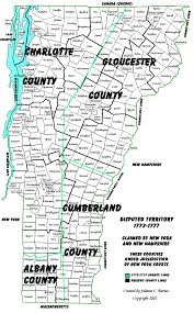 Map Of Vt Vermont Genealogy Resources Site Map