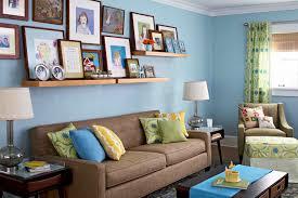 Wohnzimmer Ideen Billig Wand Streichen In Farbpalette Der Wandfarbe Blau Freshouse