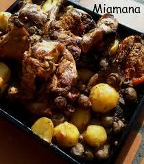 cuisiner un coq au four lapin rôti au four une débutante en cuisine