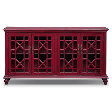 Chinese Credenza Grenoble Media Credenza Red Value City Furniture