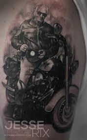jesse rix tattoos tattoos portrait harley davidson portrait