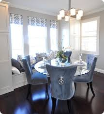 Ring Back Dining Chair Ring Velvet Chair Gray French Script Round Back Chairs About Ring