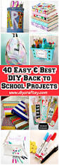 Customized Desk Accessories by The Best Back To School Diy Projects For Teens And Tweens Locker