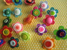 button flowers bouton de fleurs artsy crafty