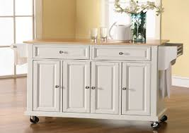 white kitchen island cart rolling kitchen island cart roselawnlutheran throughout white