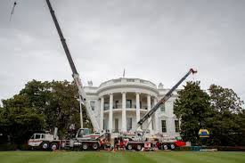 white house renovation 2017 the west wing undergoes some renovations