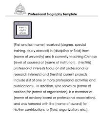 sle biography template for students biography essays exle of self biography essay expense report