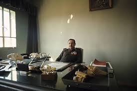 bureau militaire cherif zeid ben chaker in his office pictures getty images