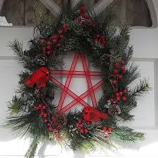 yule wreath 59 99 shabby witch a new age pagan wiccan